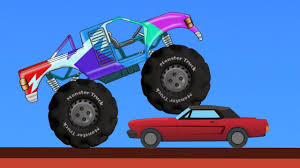 The Monster Truck | The Big Trucks | Monster Truck For Children ...