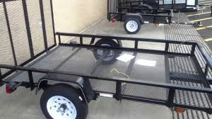 Ready-made Trailers From Lowes As A Basis For Project Trailers - YouTube