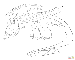 Toothless Coloring Pages How To Train Your Dragon Free Print