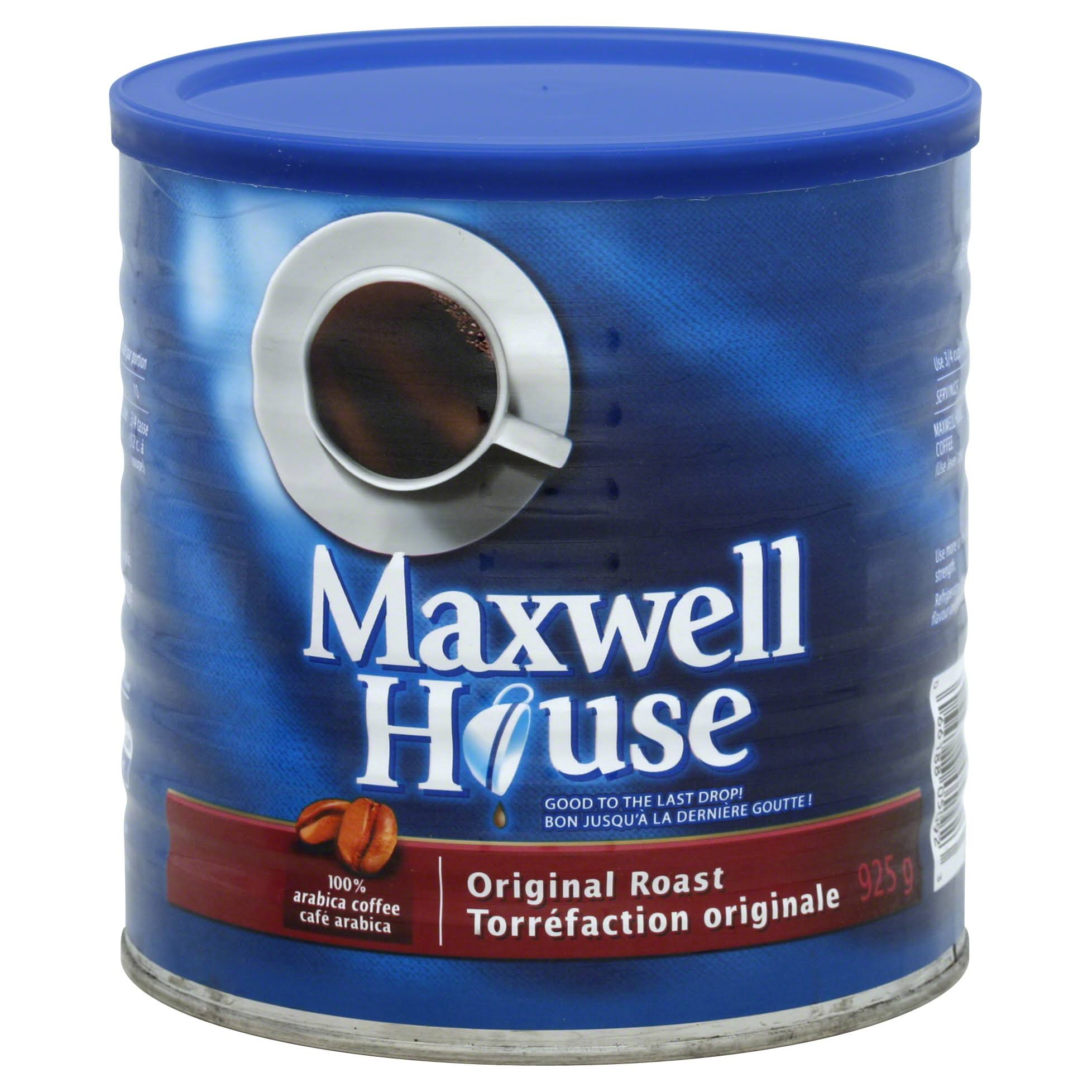 Maxwell House Original Roast Coffee - 925g