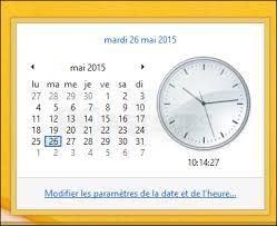 afficher plusieurs horloges dans la barre des tâches windows 8 1