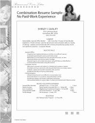 How To Write Work Experience In Resume Examples A Job With No