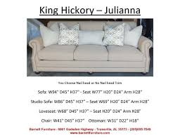 King Hickory Sofa Construction by 34 Best Average Size Sofas 84