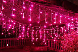 Connectable 4m Led Curtain Icicle String Lights120leds Led Fairy