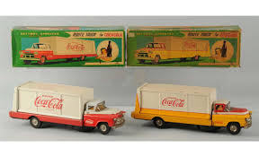 Lot Of 2: 1960 Coca-Cola Toy Trucks. Two Old Battered Metal Toy Trucks Stock Image Of Lorry Amazoncom 1996 Hess Emergency Ladder Fire Truck Cast Iron Dump Vintage Style Home Kids Bedroom Office Top Three Oak Town Best Choice Products Set 3 Pushandgo Friction Powered Car Handmade Wooden Monster Isolated On A White Background Photo Picture Trucks In Ashtonribble Lancashire Gumtree Komatsu Diecast Ford 250 Youtube Lot 2 1960 Cacola Toy Trucks 3d Cgtrader
