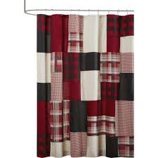 Checkered Flag Window Curtains by Gray And White Striped Shower Curtain Home Decoration Ideas