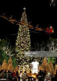 Recording Artist CeeLo Green Performs At The Groves 11th Annual Christmas Tree Lighting Spectacular