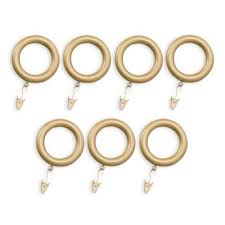 Bed Bath And Beyond Curtain Rod Rings by Buy Gold Curtain Rod Rings From Bed Bath U0026 Beyond