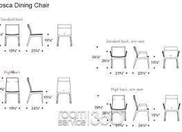 Stylish Typical Dining Room Dimensions New Standard Chair Ideas