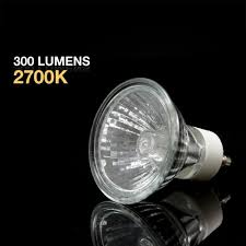 etoplighting 20 watt gu10 halogen light bulbs with clear uv glass