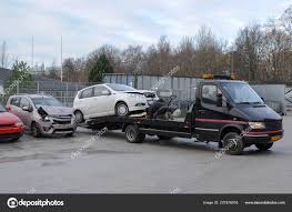100 Tow Truck Accident Broken Car Traffic Stock Editorial Photo