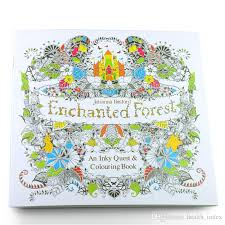 Hot New Coloring Book For Kids Secret Garden Alices Dream Enchanted Forest Pages Drawing Books Painting Sketch