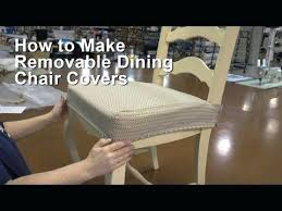 Washable Seat Covers For Dining Room Chairs How To Make A Kitchen Chair Cover Do