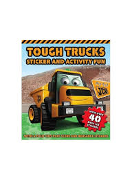Shop Igloo Books Tough Trucks Sticker And Activity Book Online In ...