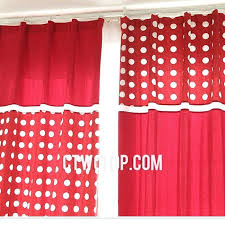 red and white curtains target red and white curtains for living