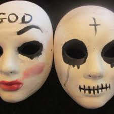The Purge Halloween Mask Ebay by The Purge Anarchy Mask The Purge God From Mymascarade On Etsy