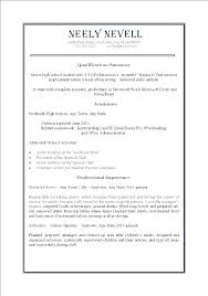 First Time Job Resume Template Part Sample Beautiful 1st