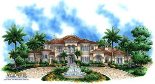 100 2 Story House With Pool Mediterranean Plan Waterfront Mansion Floor