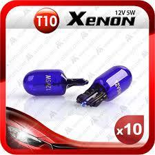 10pcs lot xenon white 501 158 194 w5w t10 12v 5w auto wedge