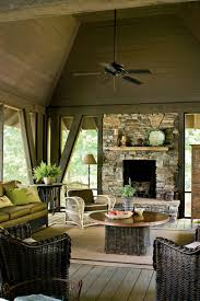 Brown Living Room Decorating Ideas by Lake House Decorating Ideas Southern Living