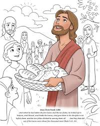 Boy Feeds 5000 With Help From Jesus 5 Bread And 2 Fish