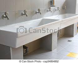 kindergarten reihe hähne badezimmer klein hähne reihe