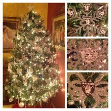 Downswept Alpine Christmas Tree by Raiders Christmas Tree Decoration Pinterest Raiders