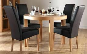 4 Seater Round Dining Table Adorable Chair Kitchen With Chairs