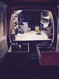 Vw Caddy Racking Van Racking Van Drawer | Van Storage | Pinterest ...