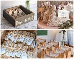 DIY Rustic Bridal Shower Favors Ideas