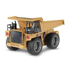 Radio Controlled Metal Alloy Construction Dump Truck – Barginway