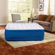 Ez Bed Frontgate by Serta Raised Air Bed With Never Flat Pump Hayneedle