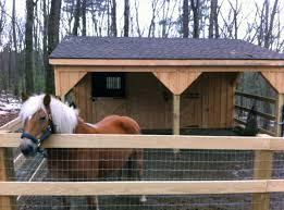 Shed Row Barns For Horses by This 2 Stall Prefab Shedrow Barn Has A Generous 10 U0027 Overhang This