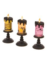 Tj Maxx Halloween Decor 2017 by 3pk Led Glitter Halloween Candle Halloween T J Maxx