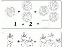 Addition Coloring Pages Kindergarten Winsome Design 21 Educational Fun Kids And