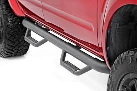 100 Side Rails For Trucks Rough Country Cab Length Nerf Steps For 20052019 Nissan Frontier