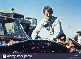 Dennis Weaver / Duel 1971 Directed By Steven Spielberg Stock Photo ...