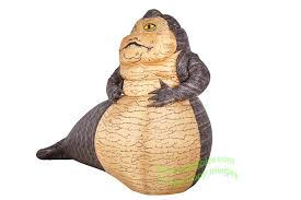Halloween Blow Up Decorations For The Yard by Air Blown 6 U0027 Star Wars Jabba The Hutt Inflatable