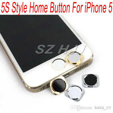 Replacement Home Button With Metal Ring For Iphone 5 Same Look As