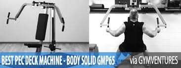 Pec Deck Exercise Alternative by Best Pec Deck Machine Reviewing The Body Solid Gpm65
