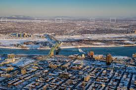 100 Belvedere Canada OverflightStock Jacques Cartier Bridge Montral