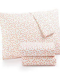 Macys Twin Headboards by Whim By Martha Stewart Collection Novelty Print 4 Pc Queen Sheet