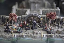 3d Dungeon Tiles Dwarven Forge by Lord Of The Ring Bella Table Dwarven Forge Rpg Terrain Diorama
