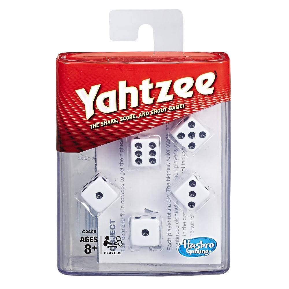 Hasbro Gaming Yahtzee Board Game - 11.18cm x 9.4cm x 3.81cm