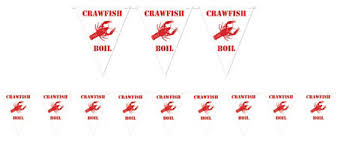 Crawfish Boil Table Decorations by Crawfish Boil Party Supplies Summer Tableware Summer Theme