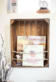 Diy Crate Bookshelf Home Decor Repurposing Upcycling Shelving Ideas Storage
