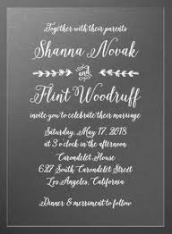 Rustic Country Clear Wedding Invitations