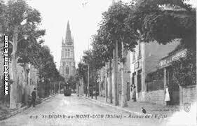 mairie didier au mont d or photos et cartes postales anciennes de didier au mont d or