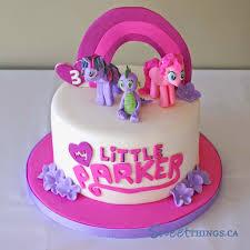 SweetThings 3rd Birthday Cake My Little Pony Cake
