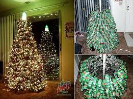 Saran Wrap Christmas Tree With Ornaments by 31 Diy Christmas Trees Made From Recycled Materials